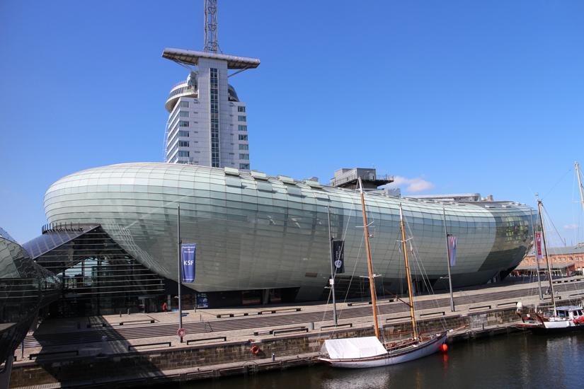 """ein Urlaubstag in Bremerhaven, Besuch im """"Klimahaus"""", ATLANTIC Hotel SAIL City"""