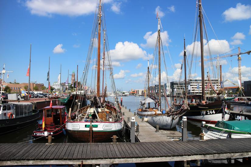 """ein Urlaubstag in Bremerhaven, Besuch im """"Klimahaus"""" & im Museumshafen"""