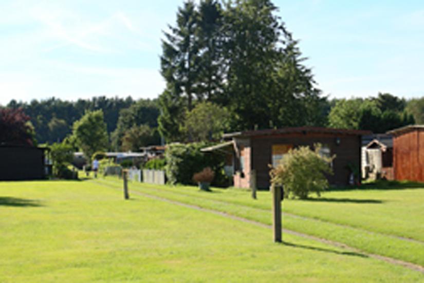 Nordholz, bei den Beckmanns auf dem Campingplatz